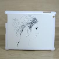 Coque iPad dessin