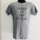 Tee-shirt Gris J'PEUX PAS J'AI LORIE EN CONCERT