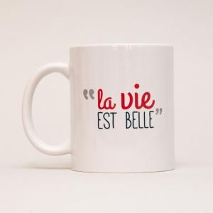 Mug La vie est belle